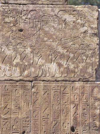 Paleography - Egypt - Karnak
