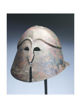 Apulo-Corinthian Helmet from Dendera
