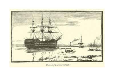 Training Ship Off Grays