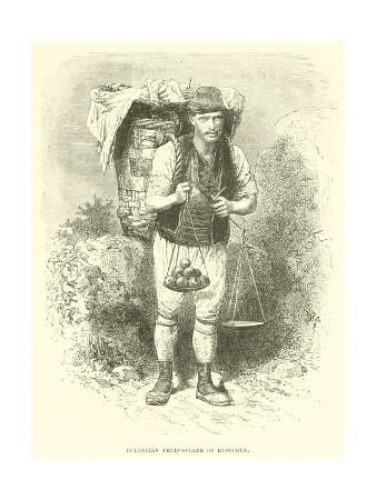 Bulgarian Fruit-Seller of Rustchuk
