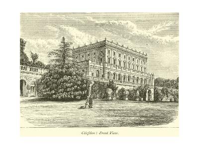 Cliefden, Front View