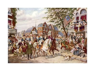 Washington's Entry into New York, 23 April 1789
