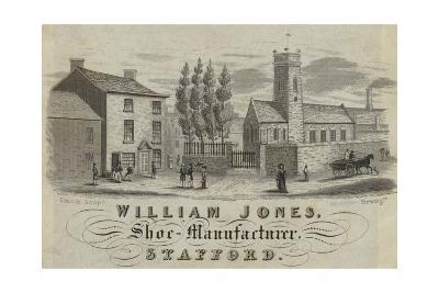 Trade Card for William Jones