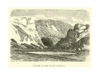 Source of the River Apurimac