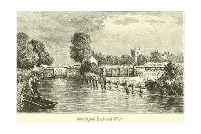 Bensington Lock and Weir