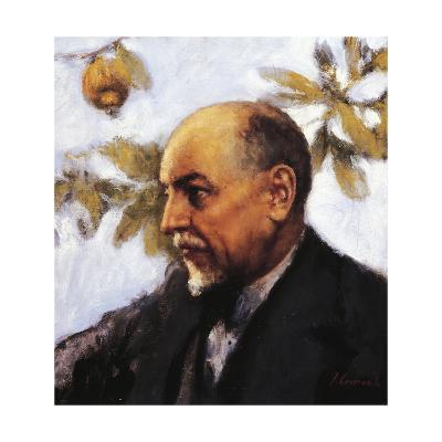 Portrait of Luigi Pirandello