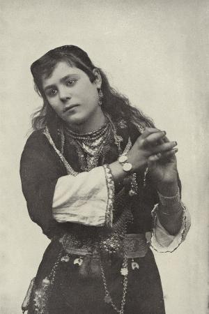 Dancing Girl in the Street of Cairo Theatre