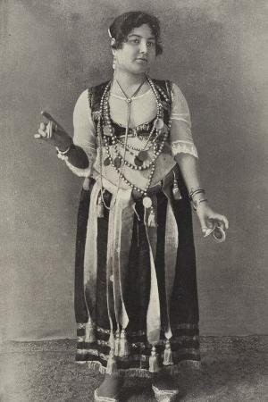 A Performer of the Danse Du Ventre
