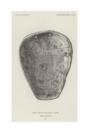Shell Gorget - the Human Figure