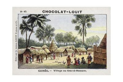 Village in Grand-Bassam, Guinea