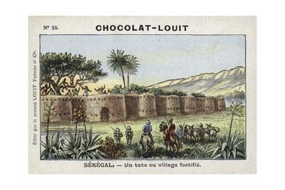 A Tata, or Fortified Village, Senegal