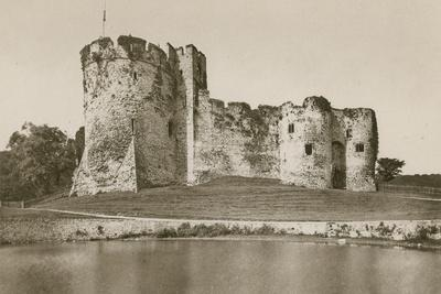 Chepstow Castle, from the Moat
