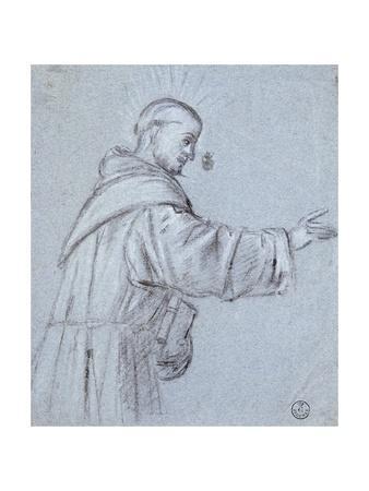 Monk by Titian