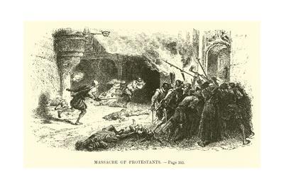 Massacre of Protestants