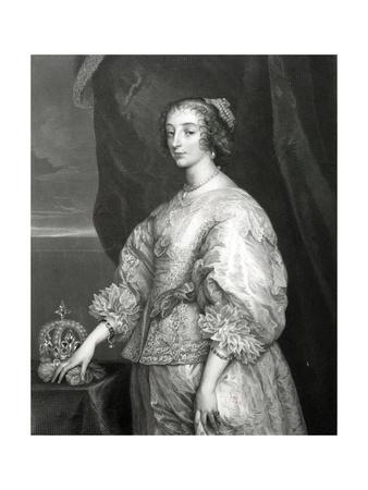 Queen Henrietta Maria, 1851