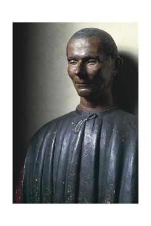 Bust of Niccolo' Machiavelli