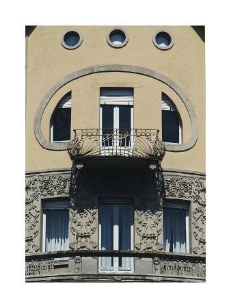 Balcony on Corner of Fiorentini House