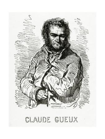 Portrait of Claude Gueux, 1834