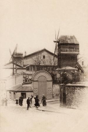 Le Moulin De La Galette, Montmartre, 1903