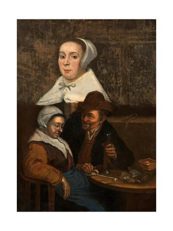 A Dutch Tavern Scene, Early 17th Century