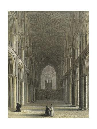 Peterborough Cathedral, the Nave