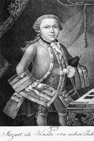 Mozart as a Boy of 7