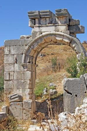 Hellenistic Gate, Xanthos, Turkey