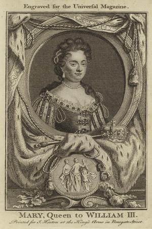 Mary, Queen to William III