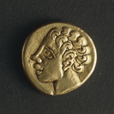 Gold Celtic Stater of Arverni