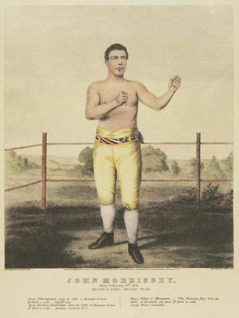 John Morrissey, from a Contemporary Print