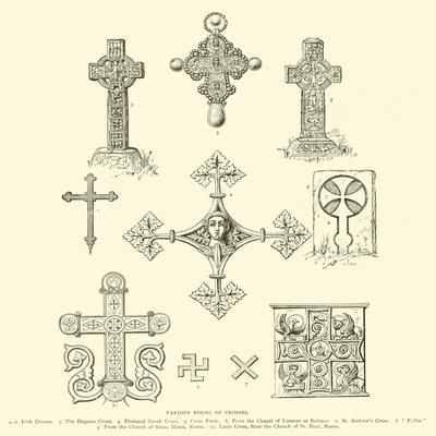 Various Forms of Crosses