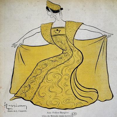 Dancer Cleopatre-Diane De Merode, known as Cleo