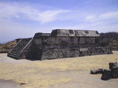 The Temple of Quetzalcoatl in Xochicalco