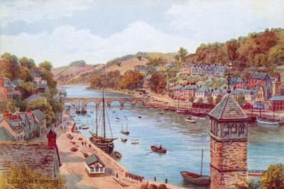 Looe, River and Bridge
