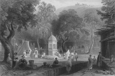 Market Scene and Fountain, Antioch