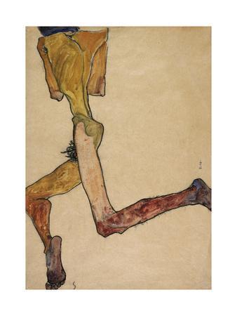 Reclining Nude Man, 1910
