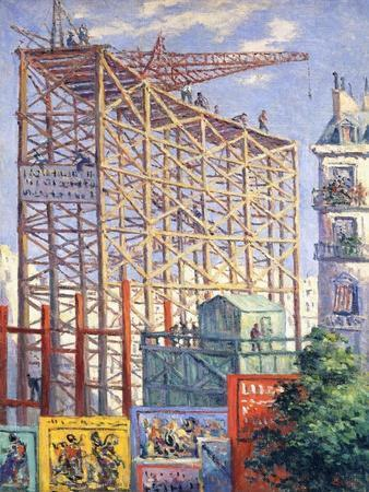 Scaffolding and Posters, C.1912