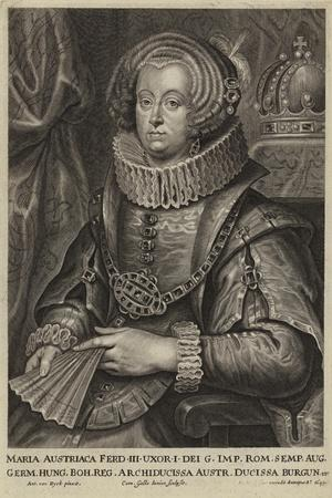 Portrait of the Archduchess Maria of Austria