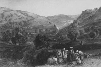 Valley of Jehoshaphat, and Brook Kedron