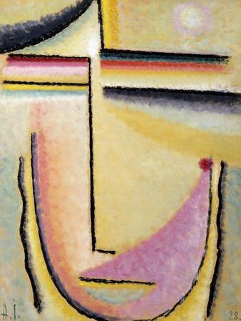 Abstract Head; Abstrakter Kopf, 1928