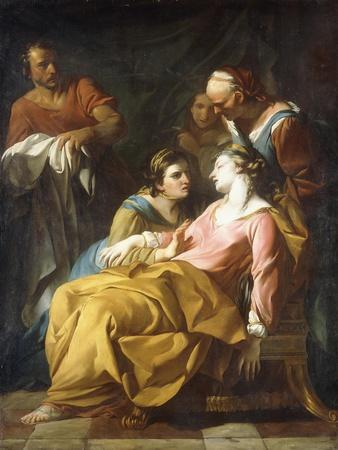 Phaedra Receiving the News of Hippolytus's Death