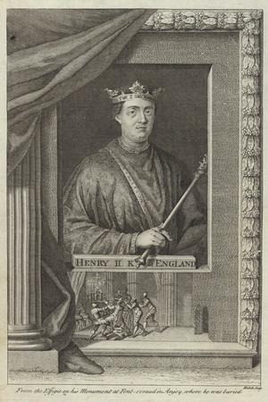 Portrait of Henry II of England