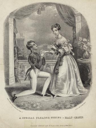 A Special Pleader Sueing or Half a Crown