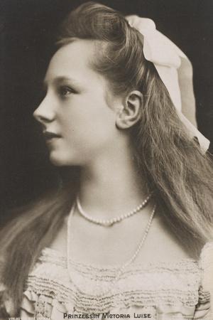 Viktoria Luise of Prussia, C.1908-10
