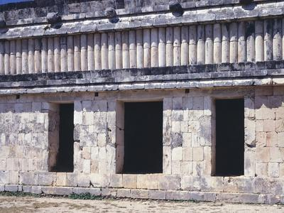 The House of Turtles in Uxmal