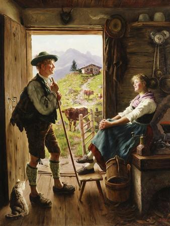 Tyrolean Couple