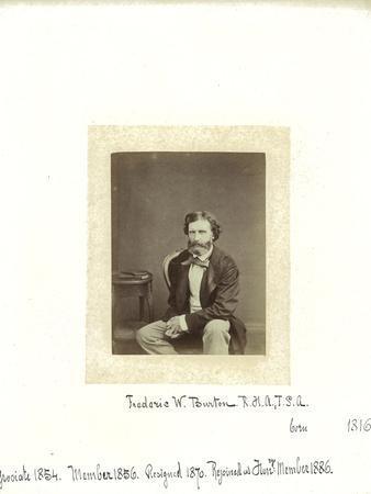 Frederic W. Burton, 1864