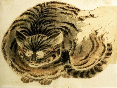 Sleeping Cat, Pub. C.1850