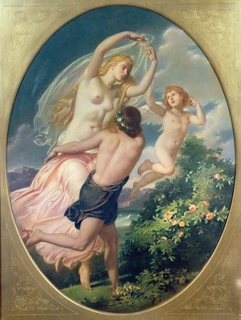 Aurora and Zephyr, 1852