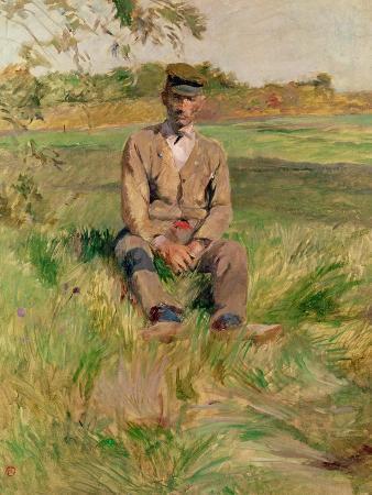 Workman at Celeyran, 1882